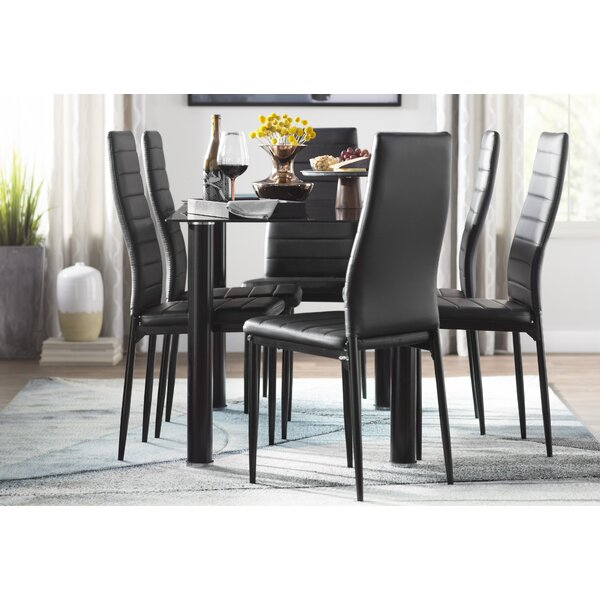 #1 Aubree 7 Piece Dining Set By Wade Logan Cool