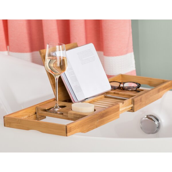 Eshleman Bamboo Bathtub Caddy by The Twillery Co.