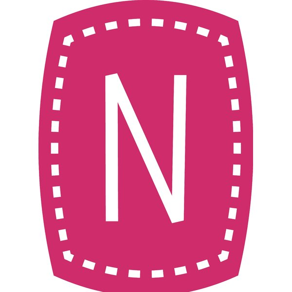 Letter N Wall Decal by Enchantingly Elegant