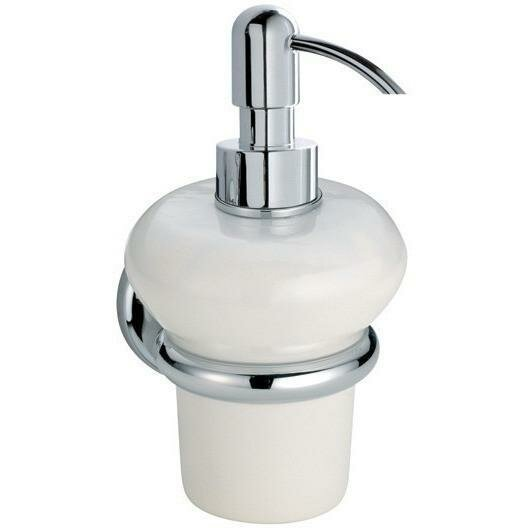 Acuna Wall Mounted Ceramic Pump Soap & Lotion Dispenser by Darby Home Co