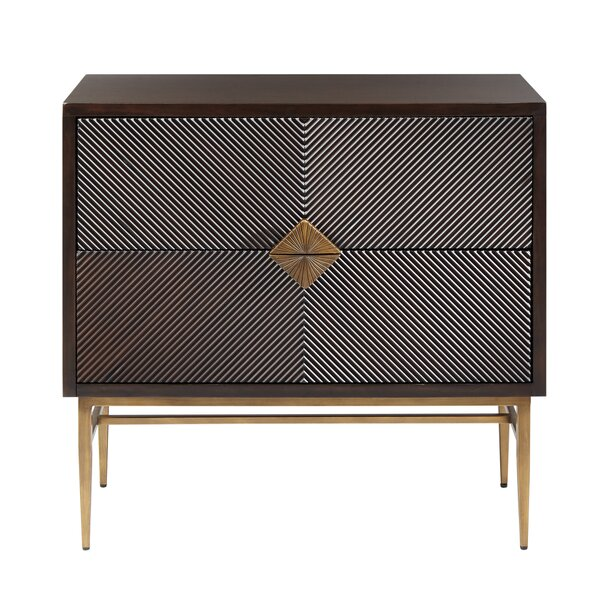 Tobias 2 Drawer Accent Chest by Langley Street