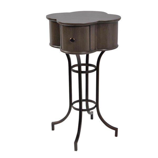 Maude Clover End Table by Charlton Home