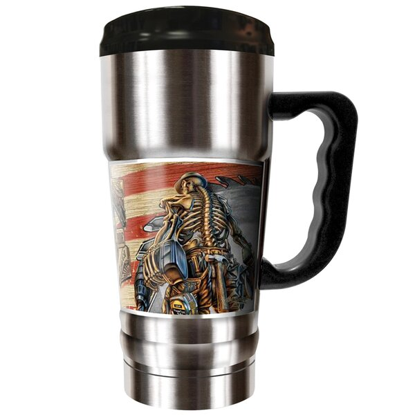 Carpenter Backbone of America 20 oz. Stainless Steel Travel Tumbler by Great American Products