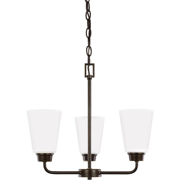 Joan 3-Light Mini Chandelier by Red Barrel Studio