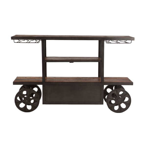 Christmas Bar Cart by Gracie Oaks