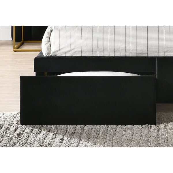 Velvet Upholstered Panel Headboard by Magnolia Home