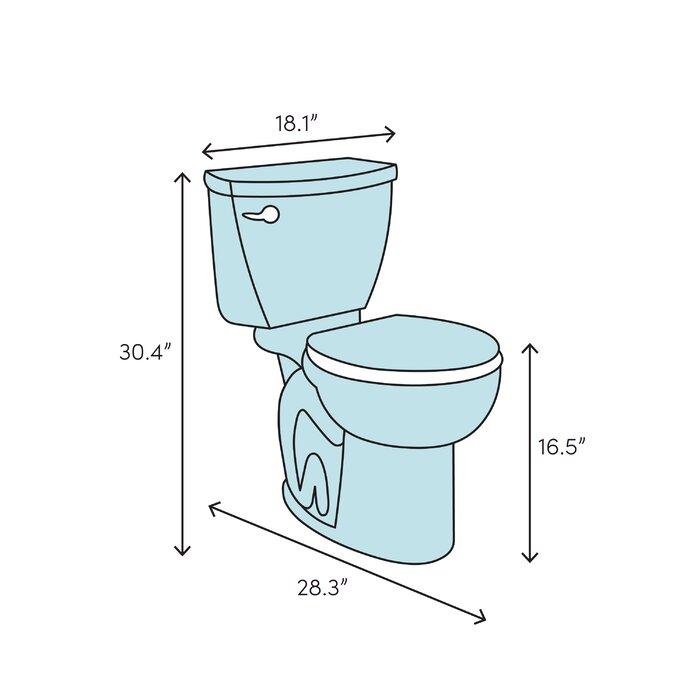 Linen American Standard 215FA104.222 Toilet