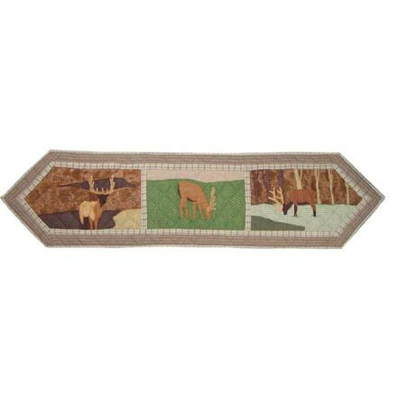 Elk Table Runner by Patch Magic