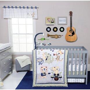 Buy clear Tuck Rock Band 6 Piece Crib Bedding Set ByHarriet Bee