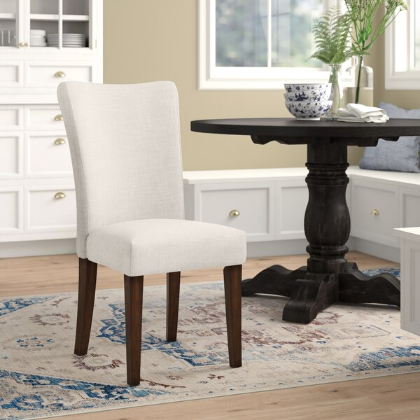 Lancaster Upholstered Dining Chair (Set of 2) by Three Posts Three Posts