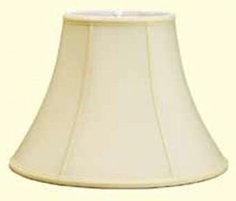 Traditional 12 Shantung Soft Bell Lamp Shade by Red Barrel Studio