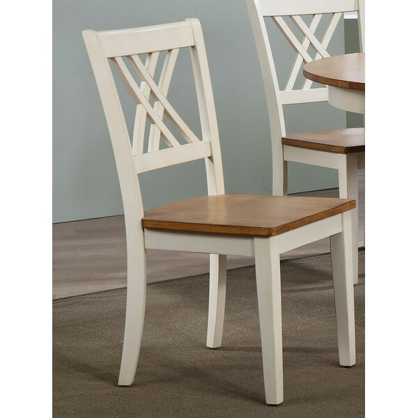 Kinsman Solid Wood Dining Chair (Set of 2) by August Grove August Grove