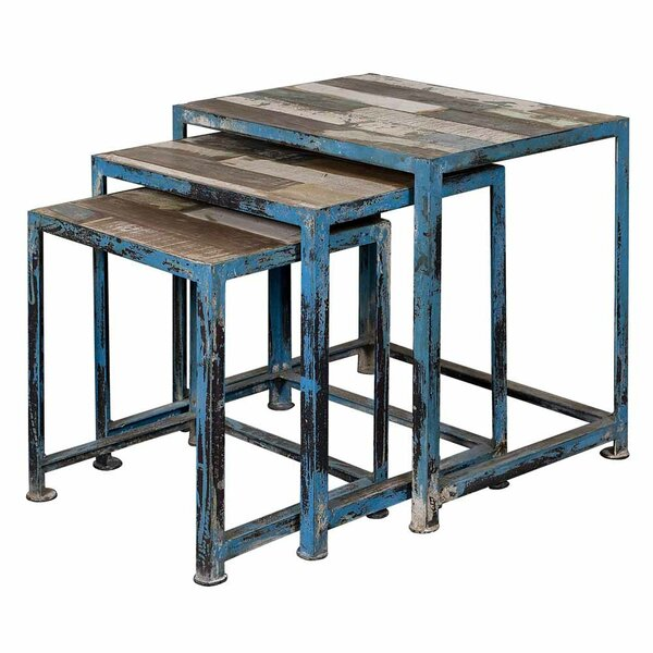 Harbin 3-Piece Nesting Table Set by Williston Forge