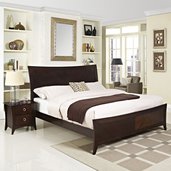 Elizabeth Platform 2 Piece Bedroom Set by Modway