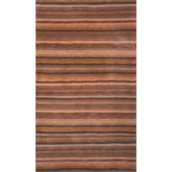Mocha Stripes Rug by dCOR design