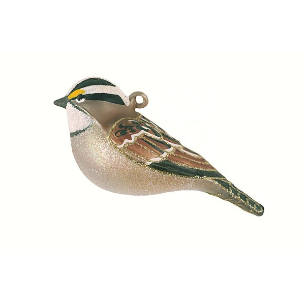 Throated Sparrow Hanging Figurine by The Holiday Aisle