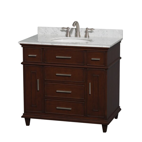 Berkeley 36 Single Bathroom Vanity Set by Wyndham CollectionBerkeley 36 Single Bathroom Vanity Set by Wyndham Collection