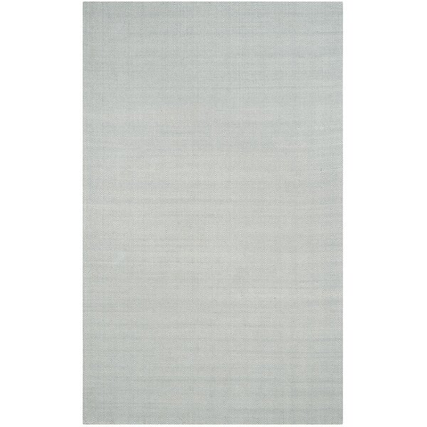 Laureldale Hand-Woven Light Blue Area Rug by Gracie Oaks