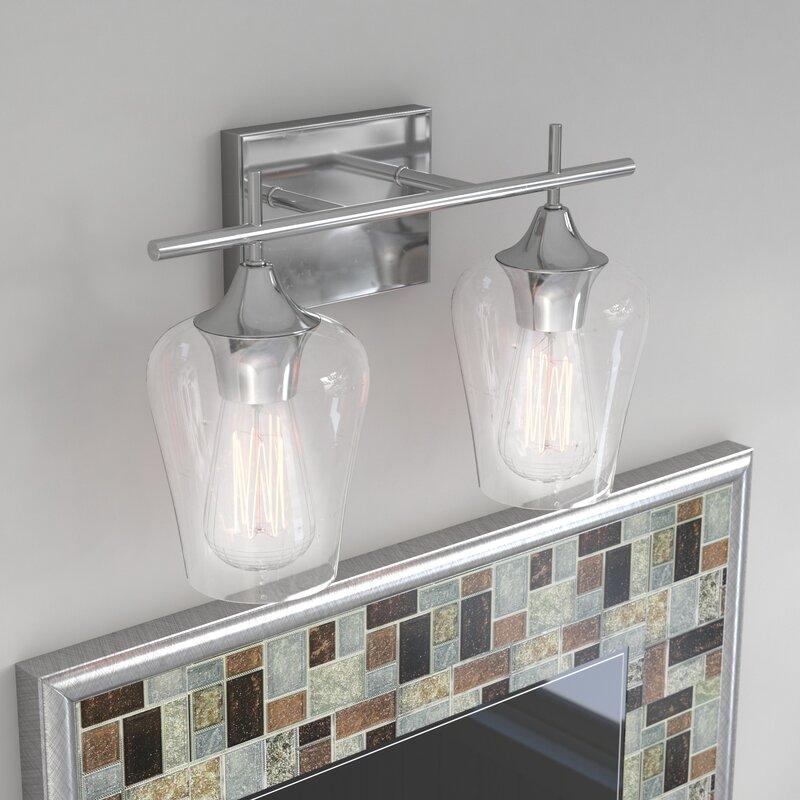 Bathroom Vanity Light On Sale: Zipcode Design Staci 2-Light Vanity Light & Reviews