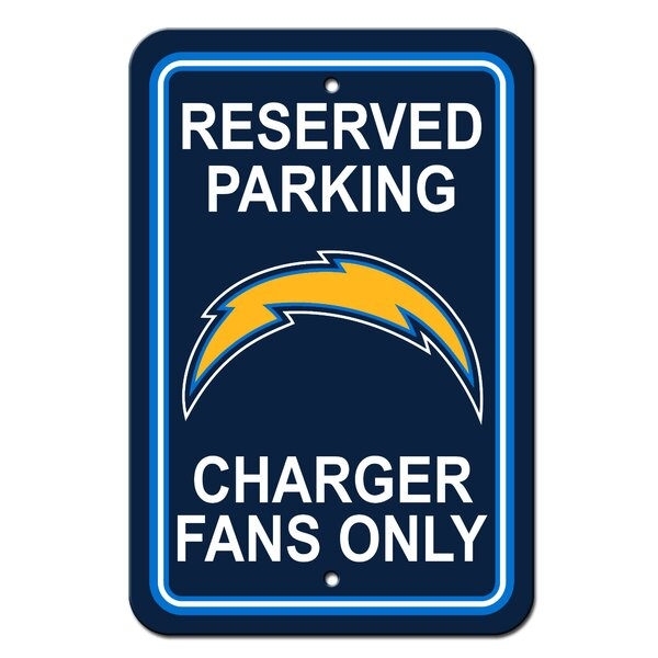 NFL Plastic Reserved Parking Sign by Team Pro-Mark