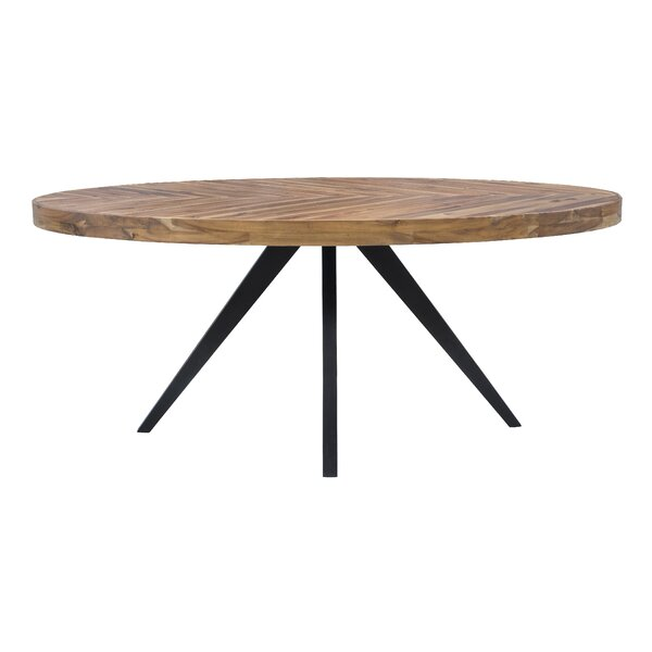 Serita Oval Dining Table by Union Rustic