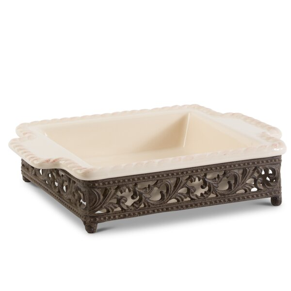 Acanthus Rectangular Baker by The GG Collection