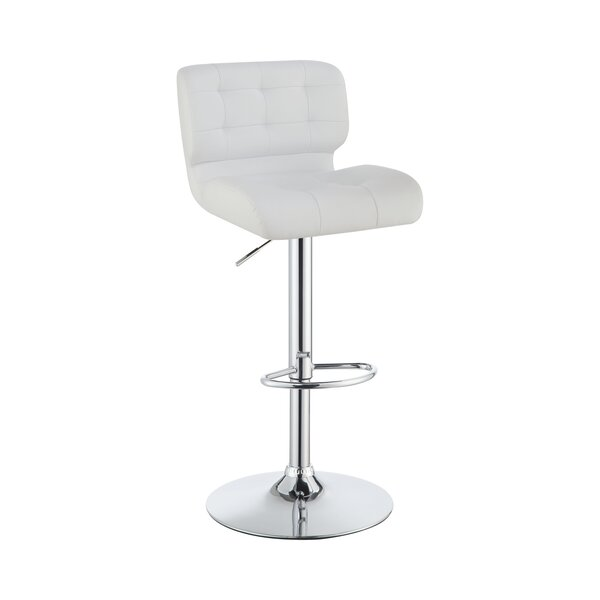 Douglasdale Swivel Adjustable Height Stool by Orren Ellis Orren Ellis