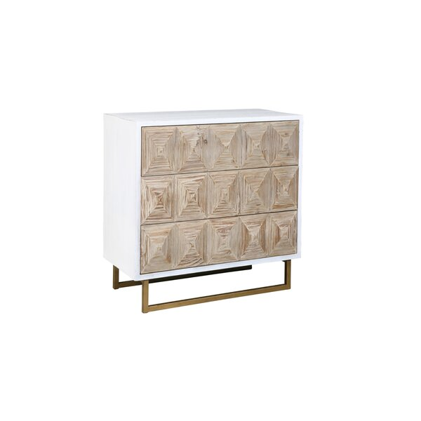 Salina 3 Drawer Accent Chest