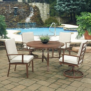 Key West 5 Piece Dining Set with Cushion ByHome Styles