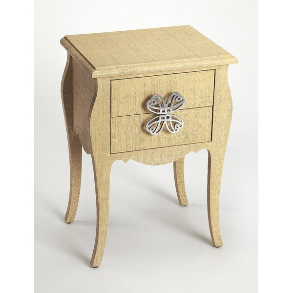 Robin End Table with Storage by One Allium Way