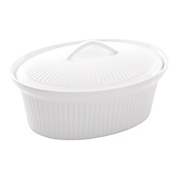 Bianco 2.5 Qt. Oval Casserole by BergHOFF International