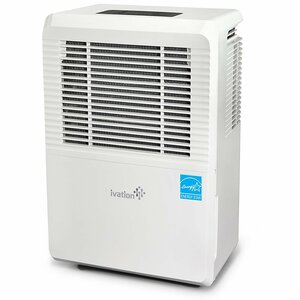 Ivation 70 Pint Dehumidifier with Casters