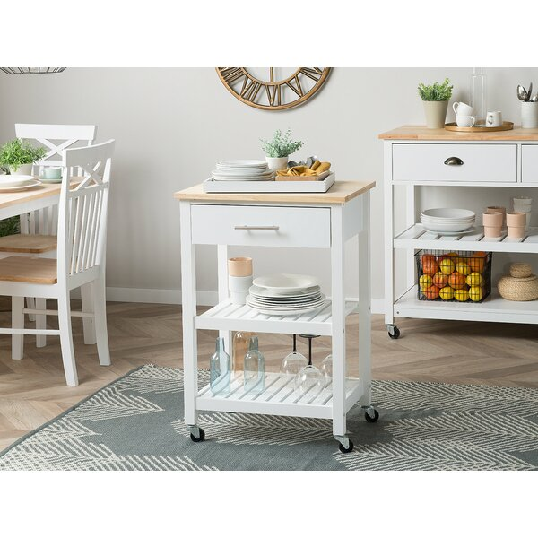 Santo Kitchen Cart By Canora Grey New