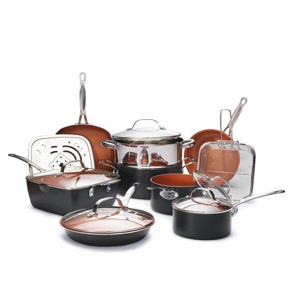 15 Piece Non-Stick Cookware Set by Gotham Steel