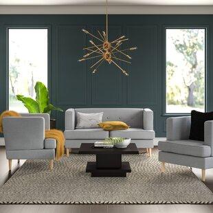 Babbett 3 Piece Standard Living Room Set by George Oliver