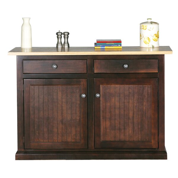 Meredith Kitchen Island With Butcher Block Top By Breakwater Bay No Copoun