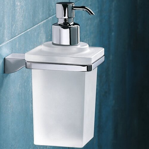 Glamour Wall Mount Soap Dispenser by Gedy by Nameeks
