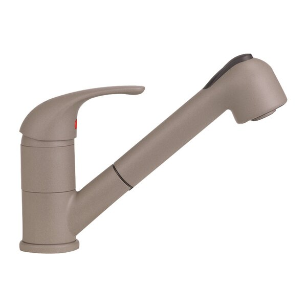 Torino Jr. Single Handle Deck Mounted Kitchen Faucet with Pull Out Spray by Blanco