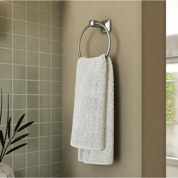 Perth Wall Mounted Towel Ring by Design House