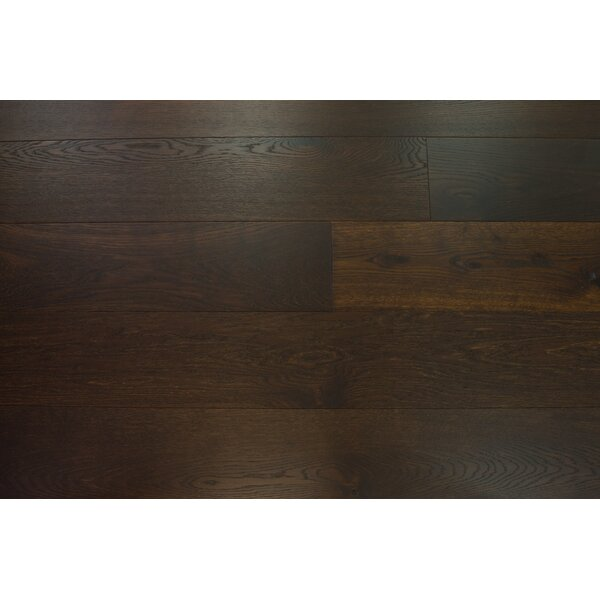 Bergen 7-1/2 Engineered Oak Hardwood Flooring in Dark Chocolate by Branton Flooring Collection