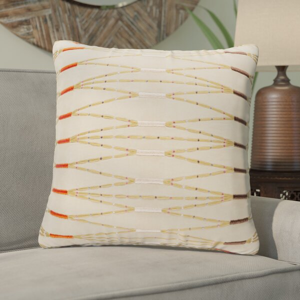 Cotton Throw Pillow by Bloomsbury Market