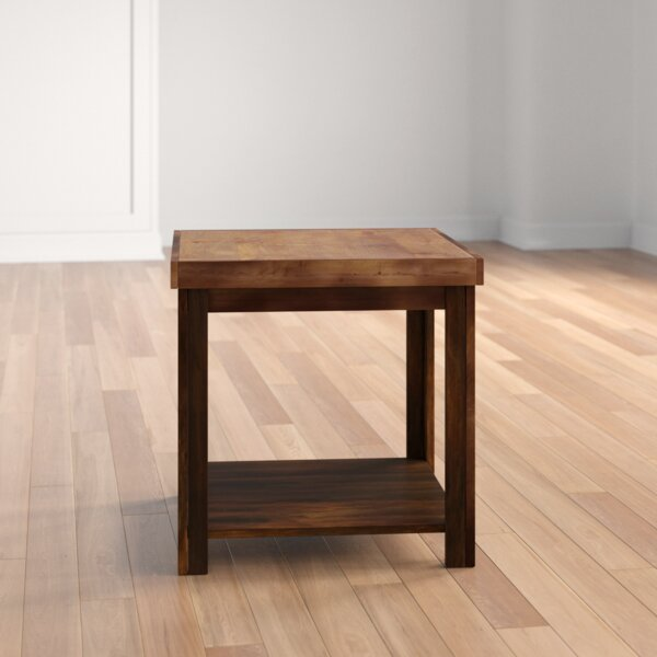 Pooler End Table By Three Posts