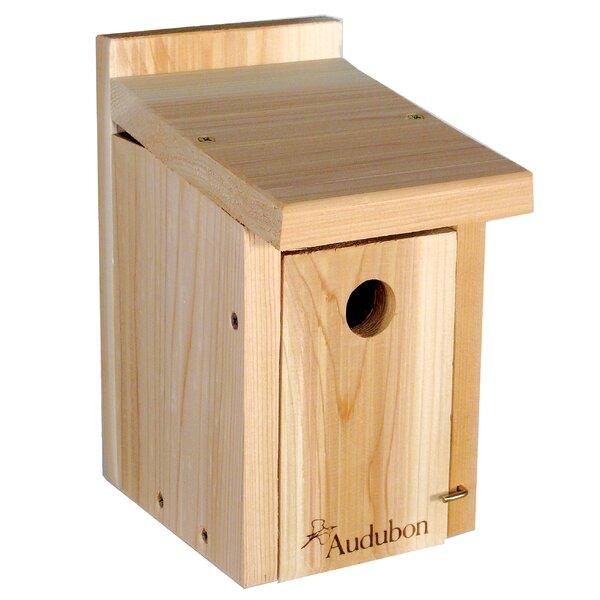 Audubon Cedar 11 in x 7 in x 6 in Birdhouse by Woodlink