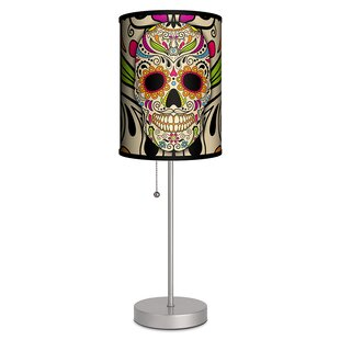 Looking for Sugar Skull 20 Table Lamp By Lamp-In-A-Box