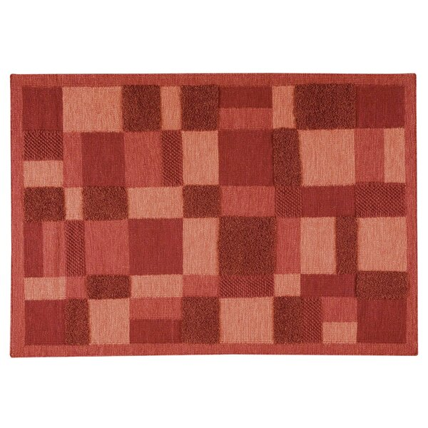 Arncliffe Red Area Rug by Latitude Run
