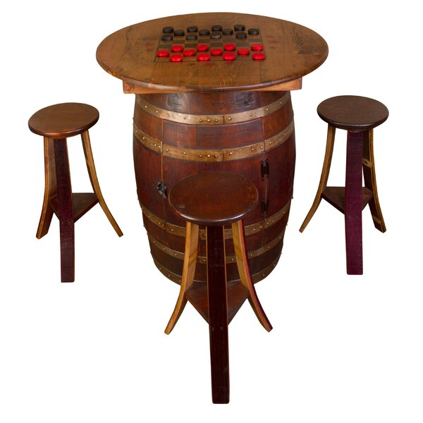 Whiskey Barrel 5 Piece Dining Set by Napa East Collection