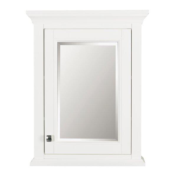 Nardi 22 x 28 Surface Mount Framed Medicine Cabinet With 2 Adjustable Shelves