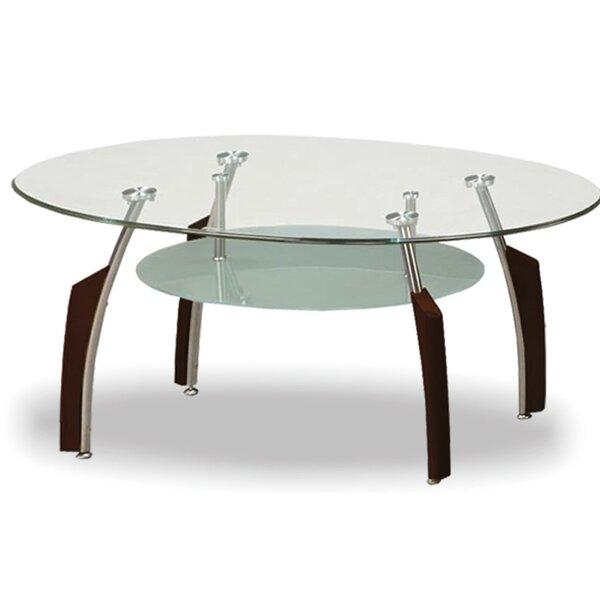 Fynn Tempered Glass Coffee Table By Brayden Studio