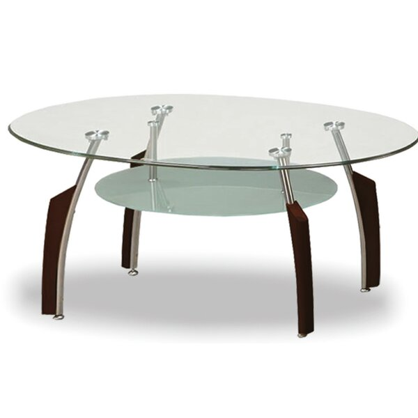 Patio Furniture Fynn Tempered Glass Coffee Table