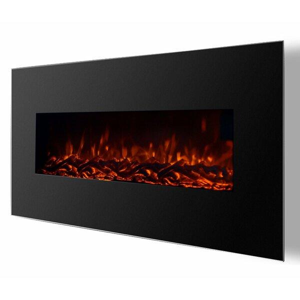 Kewaunee Ventless Heater Wall Mounted Electric Fireplace By Brayden Studio
